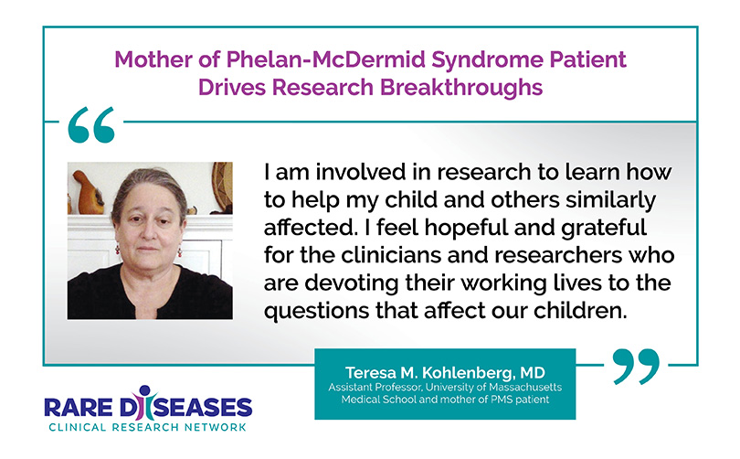 Mother of Phelan-McDermid Syndrome Patient Drives Research Breakthroughs