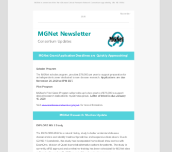 MGNet Newsletter