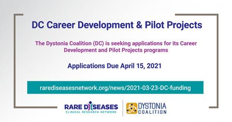 DC Career Development and Pilot Projects
